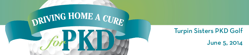 Turpin Sisters PKD Golf Driving Home a Cure for PKD Golf Tournament